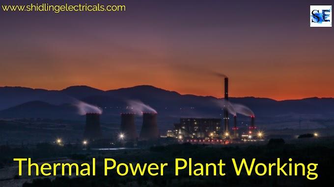 Thermal Power Plant, Working, Parts, Advantages, DIsadvantages