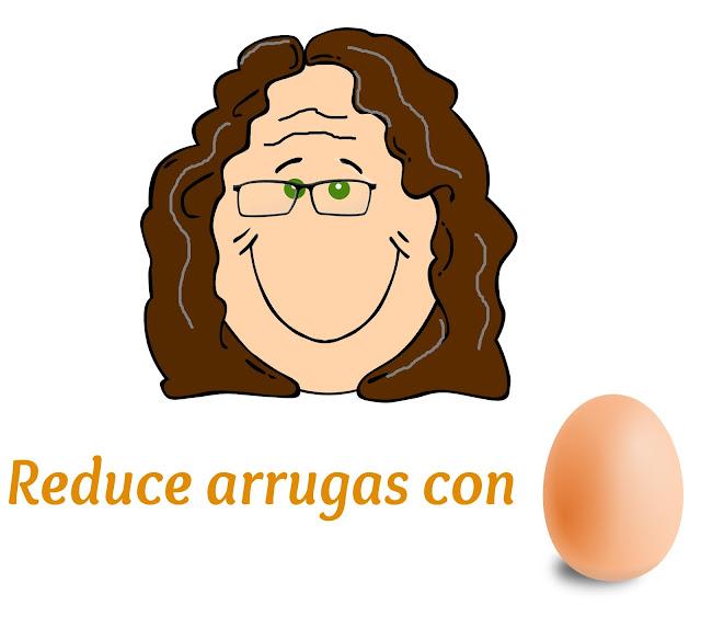Reduce arrugas con huevo