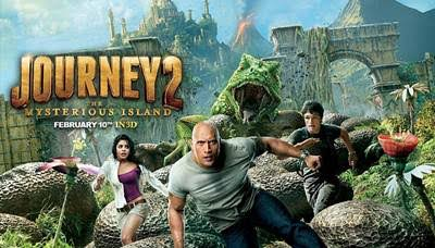 "Review Film: ""Journey 2: The Mysterious Island"