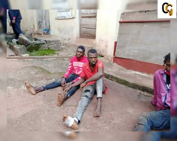 ENUGU STATE POLICE ARRESTED A DISMISSED SOLDIER FOR MURDER AND ARMED-ROBBERY,(PHOTOS).