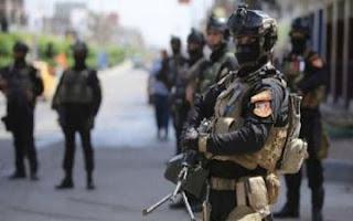 أنتشار قوة من جهاز مكافحة الارهاب في بغداد ضمن خطة العيد