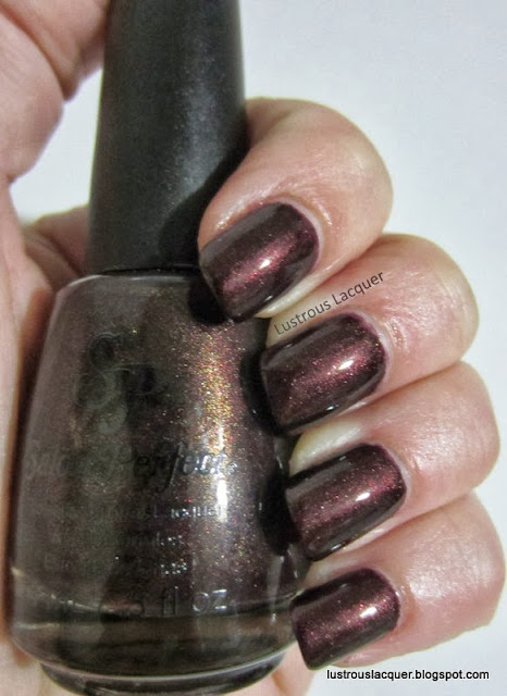 Salon Perfect Raisin the Roof. Fall Polish Forecast Collection