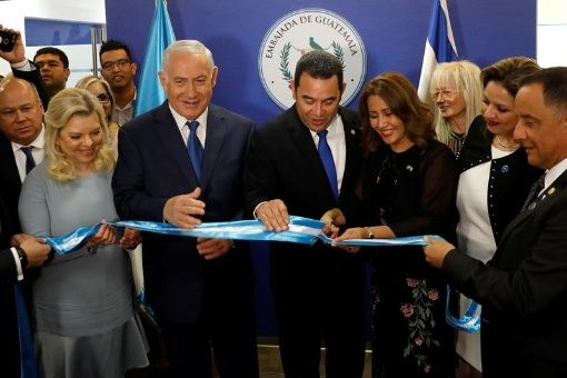 Guatemala muda embajada a Jerusalén pese a rechazo mundial