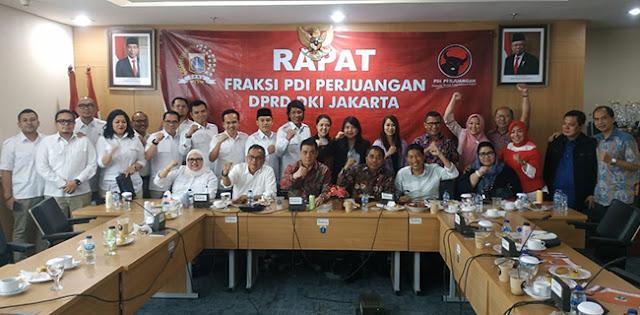 Sambut Hangat Riza Patria, PDIP Sinyalkan Dukung Jagoan Gerindra Dampingi Anies Baswedan