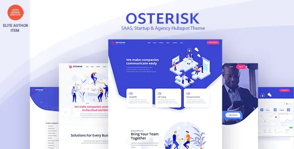 Best Saas, Startup & Agency Hubspot Theme