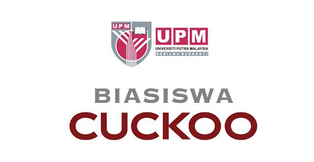 Permohonan Biasiswa Cuckoo 2020 Untuk Pelajar UPM Dibuka