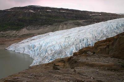 Glaciar Svartisen – Noruega
