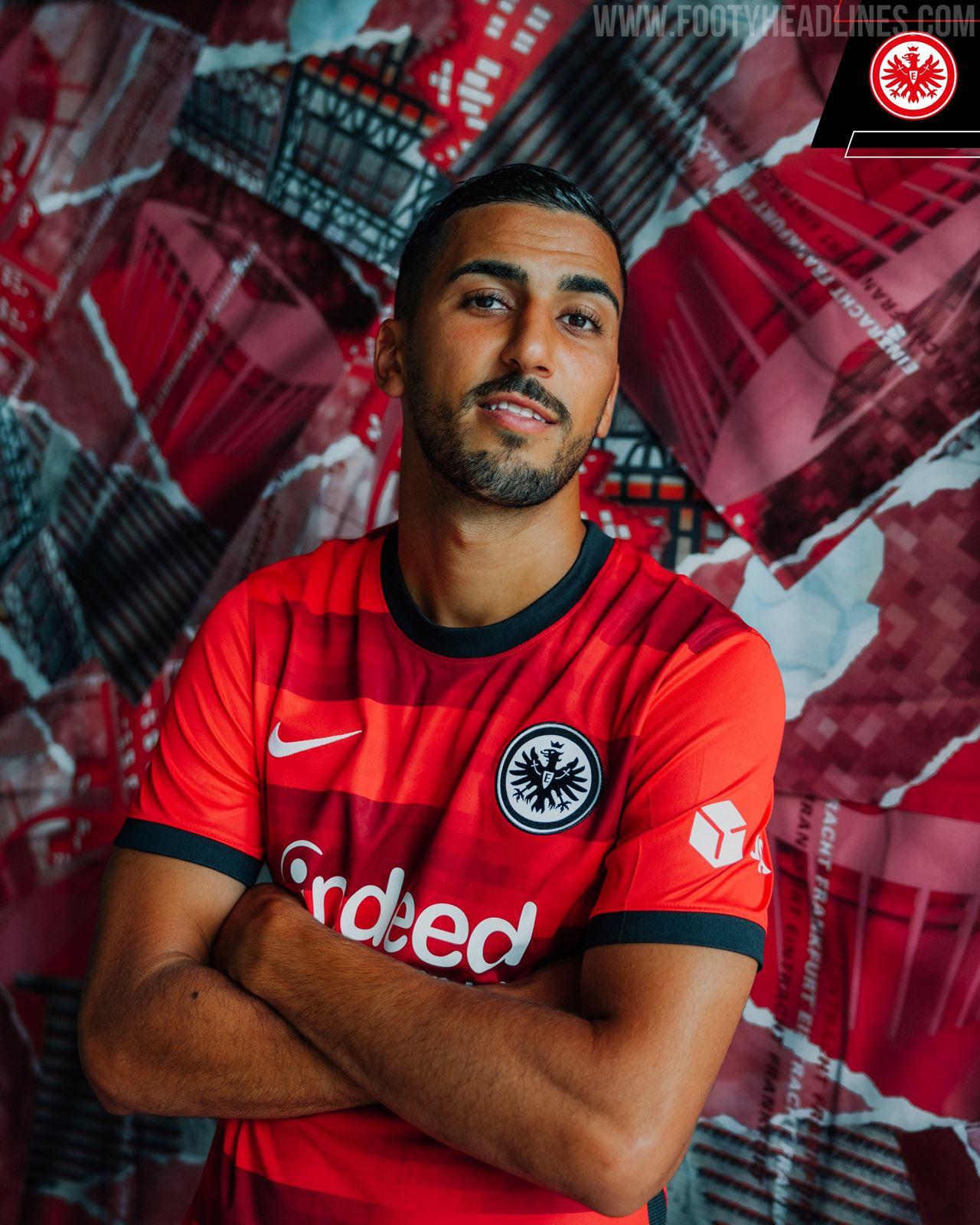 Eintracht Frankfurt 21 22 Away Kit Released   Footy Headlines