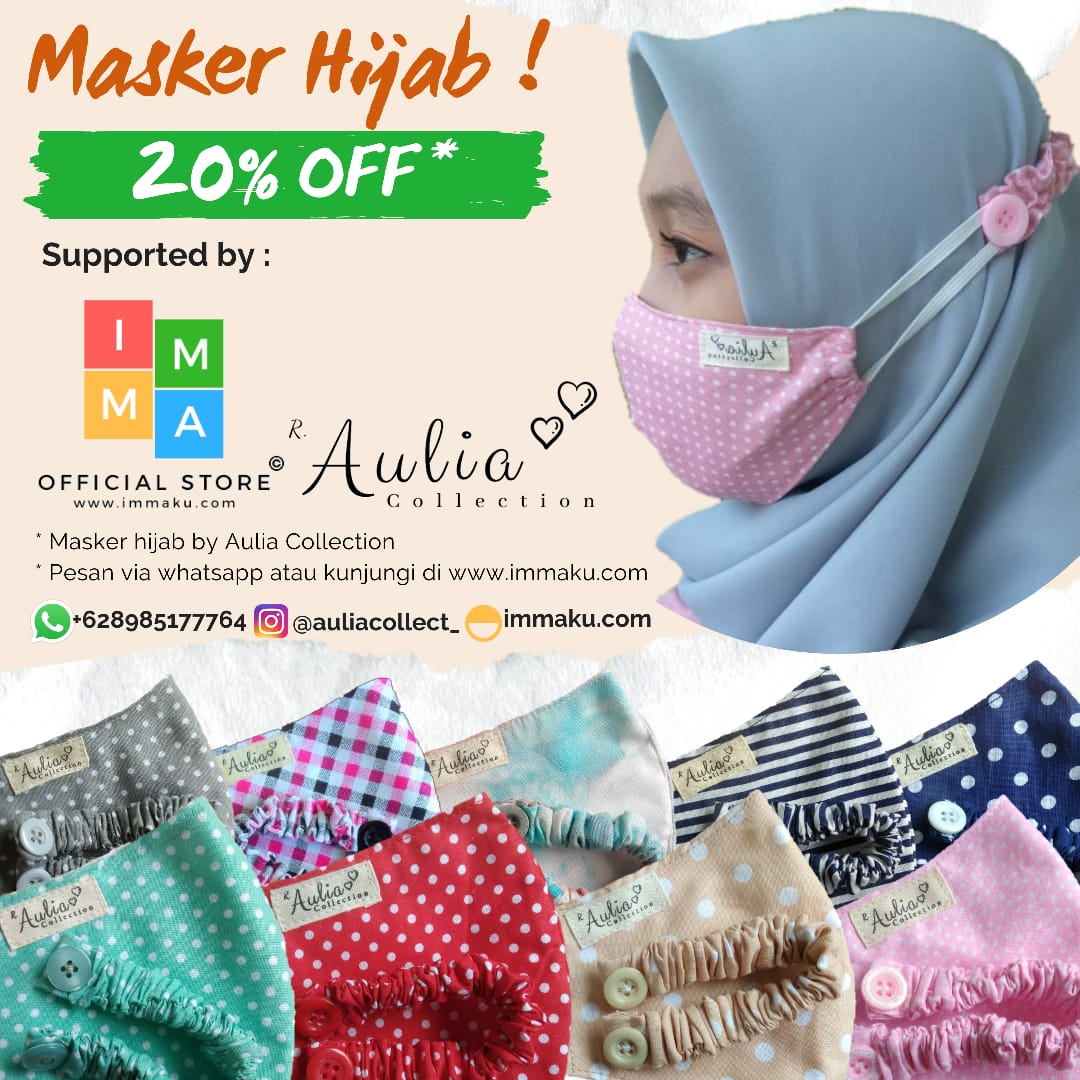 Banner Masker Aulia Collection