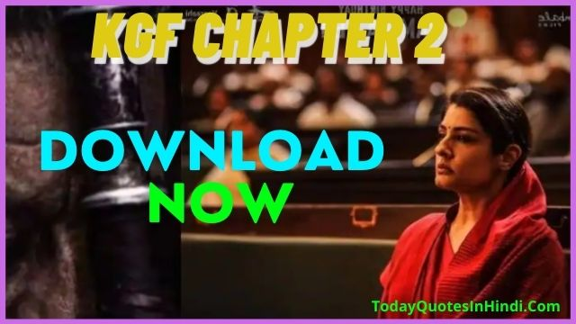 KGF Chapter 2' New Release Date