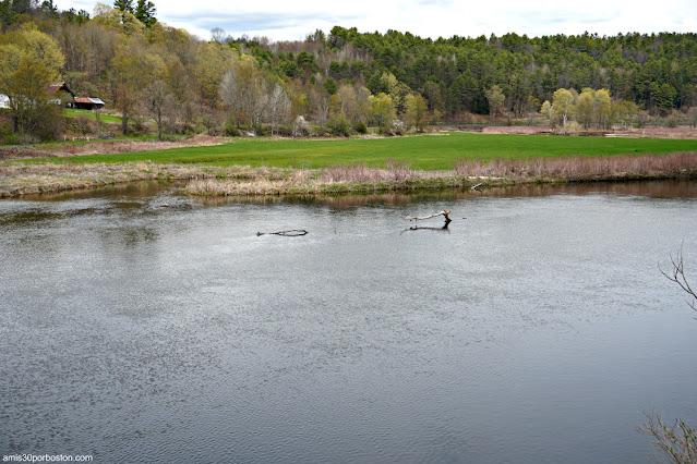 Río Ammonoosuc a su Paso por Bath, New Hampshire