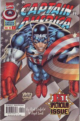 Marvel Comics Captain America 1st Spectacular Issue