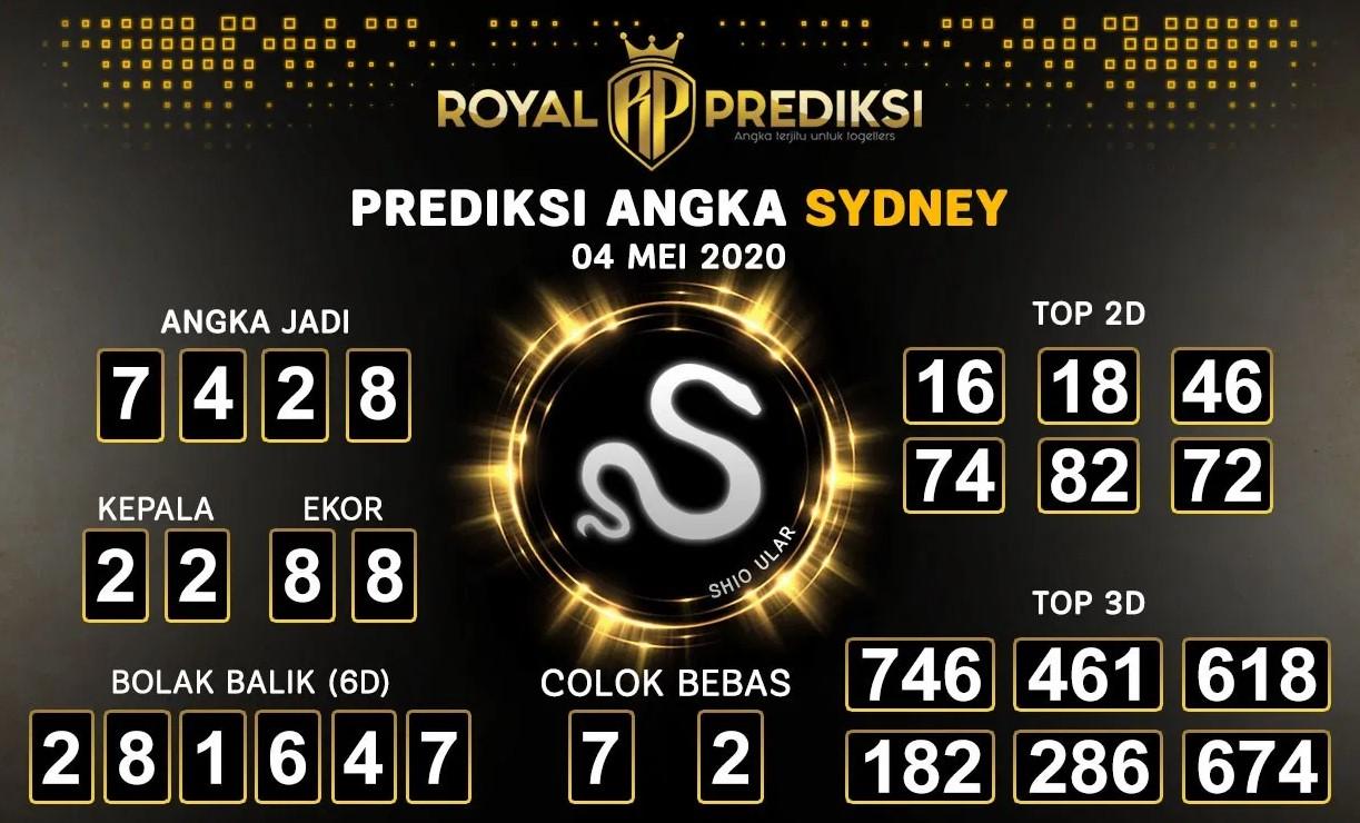 Prediksi Sydney 04 Mei 2020 - Royal Prediksi Sydney
