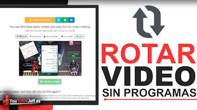 Como Rotar un Vídeo SIN PROGRAMAS - Fácil y Rápido