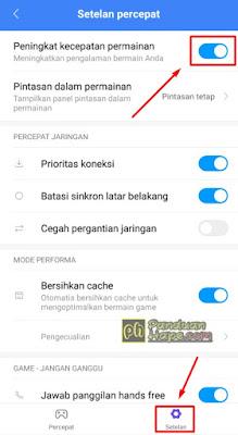 Mengaktifkan Game Booter di Xiaomi