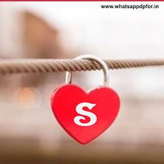 whatsapp dp letter s