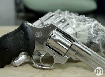Sejusp (Secretaria de Estado de Justiça e Segurança Pública) doa 275 revólveres para a Guarda Municipal de Campo Grande (MS)