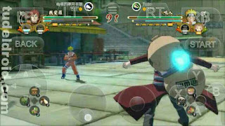 Mode Battle Game HD Naruto di Android
