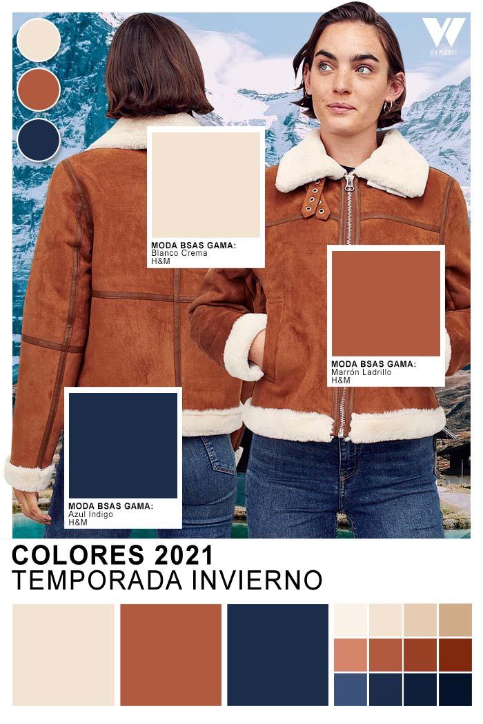 Moda invierno 2021 colores