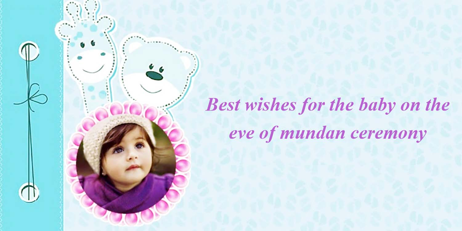 Happy Mundan Ceremony Messages Wishes Invitations Amp Quotes In Hindi