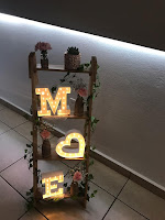 Decoración de bodas con materiales reciclados
