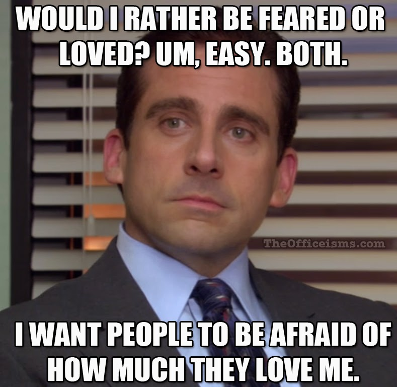 The Office Isms Michael Scott Memes