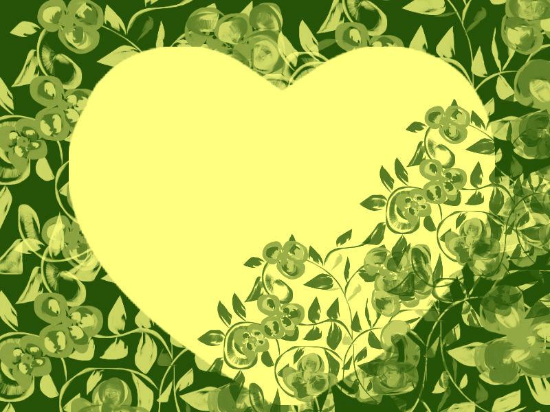 Un corazón en tonos verdes para recordar | Corazones ARK