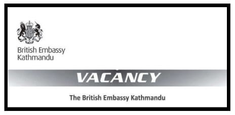 The British Embassy Job Vacancies