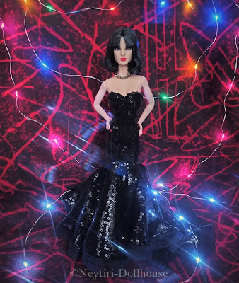 Mattel Barbie doll Happy New Year from Star Wars Darth Vader