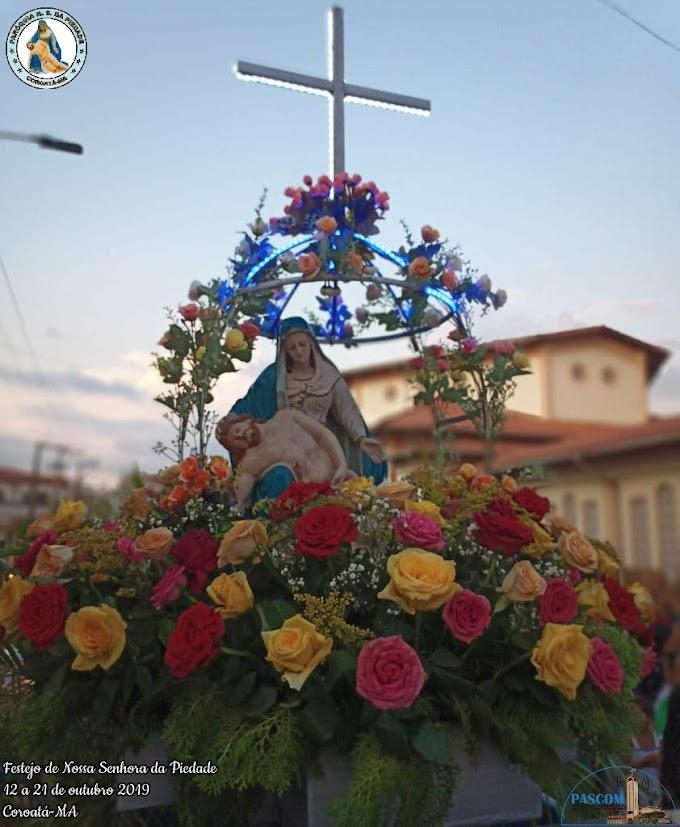 Veja como foi o Festejo de Nossa Senhora da Piedade em Coroatá