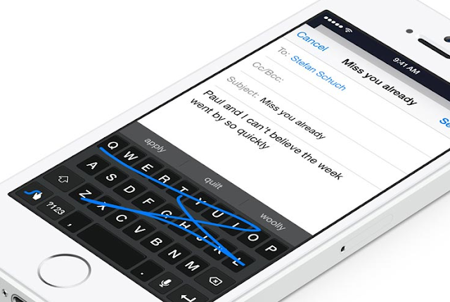 كيفية إضافة لوحات مفاتيح الطرف الثالث على ايفون