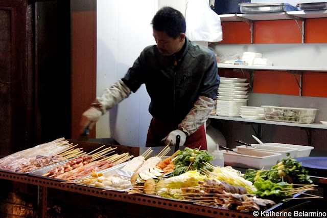 Street Food Skewers Beijing Food Tour China