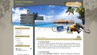 Exotic Vacation Blogger Template