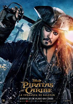 Póster de Piratas del Caribe: la venganza de Salazar