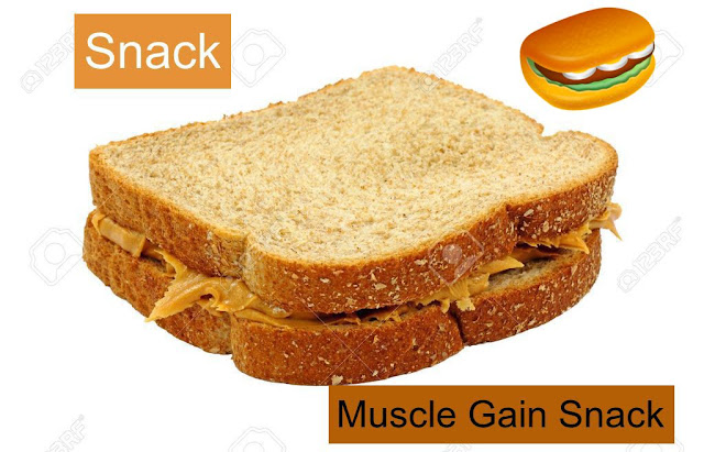 (SNACK) Muscle Gain snack in low price  (Muscle Building Snack)