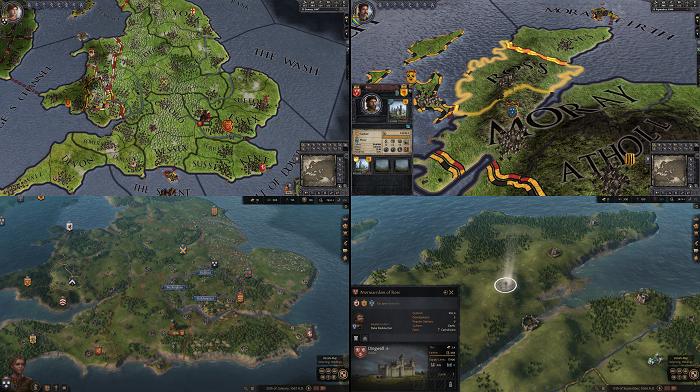 Crusader Kings 2 vs 3 - Terrain Comparison