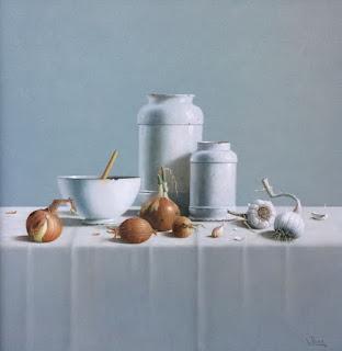 realistas-manifestaciones-con-bodegones-de-frutas-jarras pinturas-realismo-bodegones-jarras-frutas