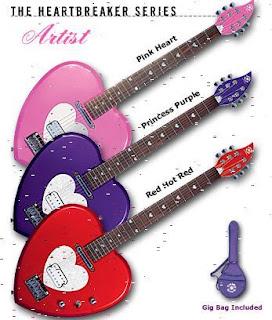 Daisy rock- Gitary stworzone z myślą o kobietach
