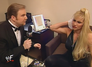 WWE / WWF Survivor Series 1998 Deadly Game - Kevin Kelly interviews Sable
