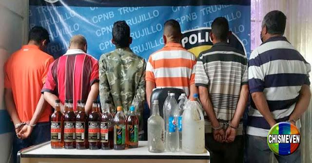 Seis amigos detenidos por consumir bebidas alcohólicas en las calles de Trujillo