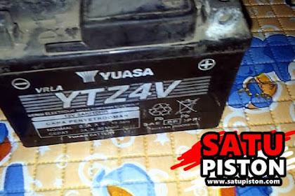 Review Pemakaian Aki Yuasa YTZ4V, Awet Hingga 6 Tahun !!!