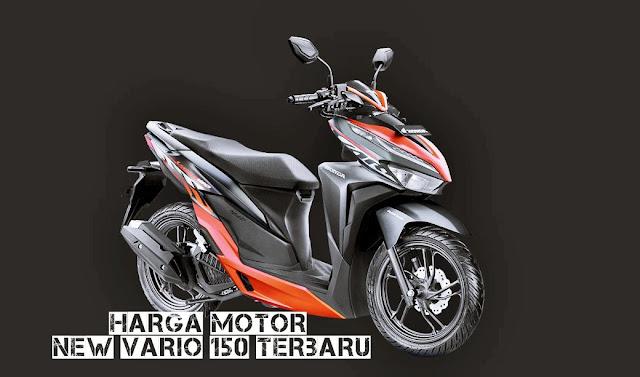harga terbaru new vario 150 sporty black red