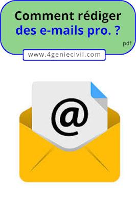 rédaction des e-mails professionnels