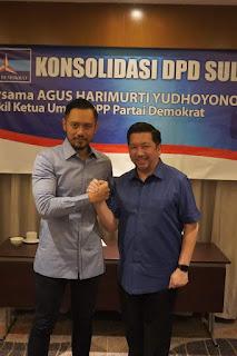 Target Menang , AHY Isyaratkan MDB dalam Pilwako Manado