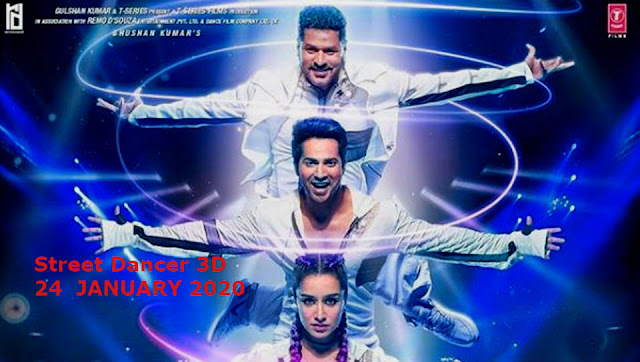STREET DANCER 3D | Upcoming Bollywood Movies 2020