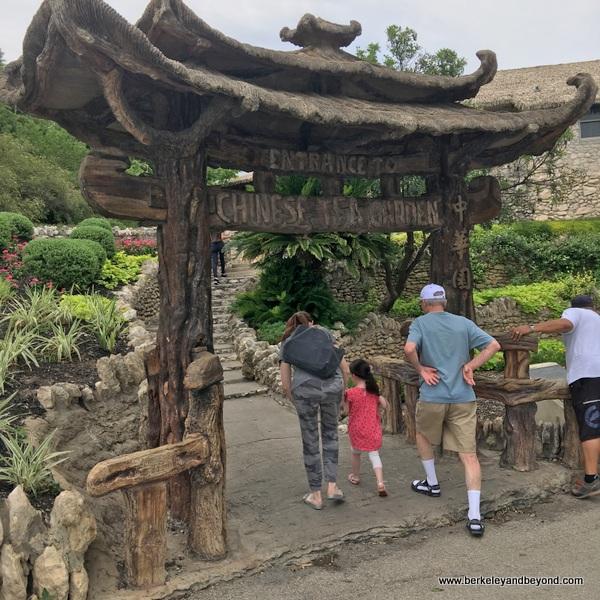 entrance to Japanese Tea Garden in San Antonio, Texas