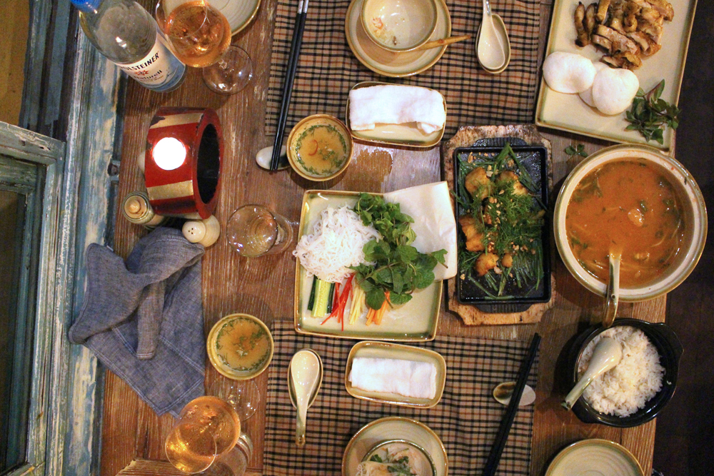 Dinner at Home in Hanoi, Vietnam - lifestyle & travel blog