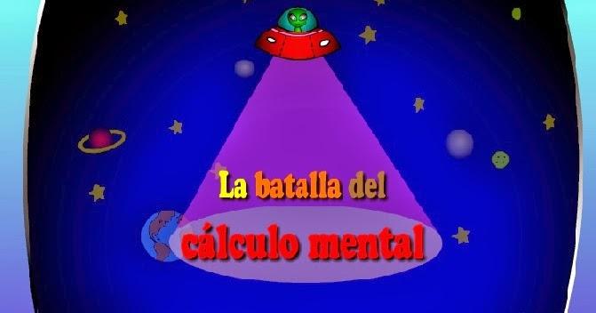 Resultado de imagen de la batalla del calculo mental juego