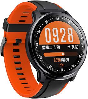 Waterproof Fitness Tracker Smartwatch