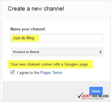 tạo kênh youtube moi - verify phone